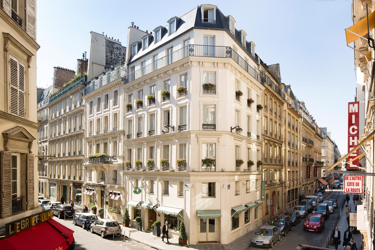 Hotel paris hotel paris opera hotel cordelia paris for Paris hotel address